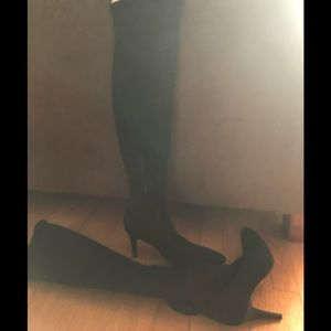 Nine West over the knee stretchy boots